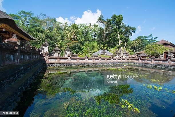 Holy Spring at Tirta Empul Temple, Bali