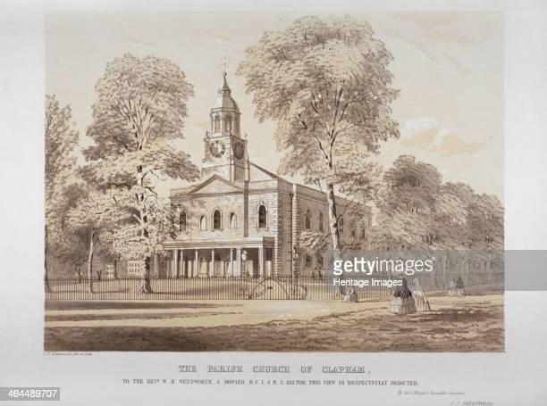 Holy Trinity Church Clapham London c1850