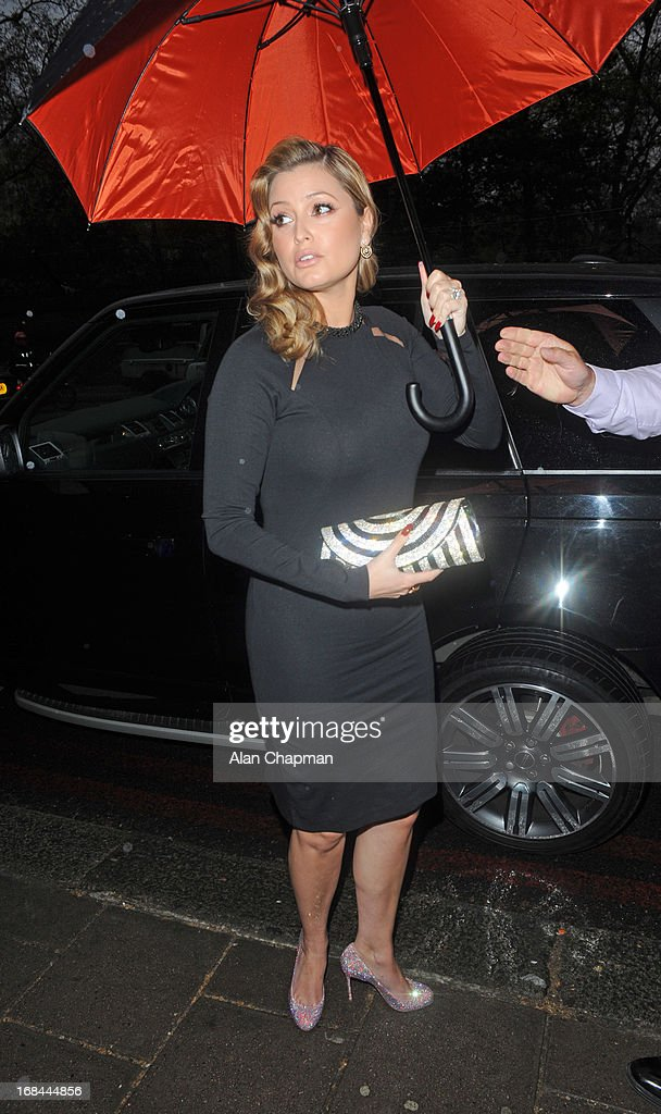 Holy Valance sighting arriving at CANDY Magazine launch party at Il Bottaccio Grosvenor Place on May 9, 2013 in London, England.