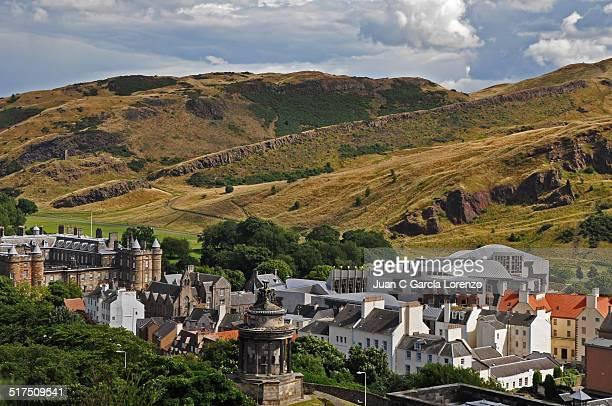 Holyrood from Calton Hill, Edinburgh