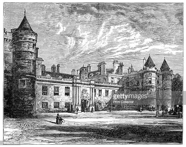 Holyrood Palace Edinburgh 1900 Also known as The Palace of Holyroodhouse it was founded as a monastery in 1128 Illustration from The life and times...
