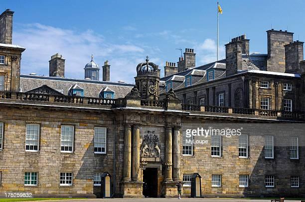 Holyrood Palace Royal Mile Edinburgh Lothian Region Scotland UK