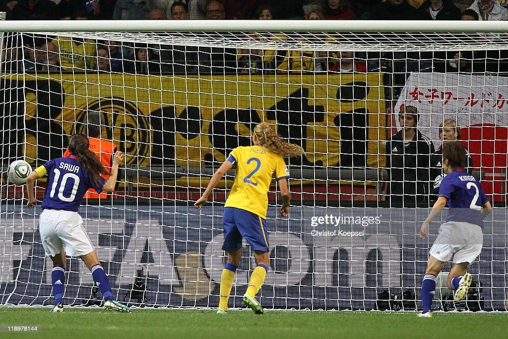 Japan v Sweden: FIFA Women's World Cup 2011 - Semi Final