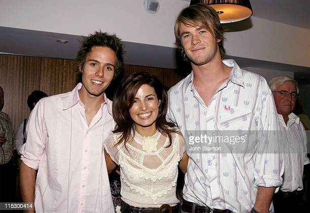 Home and Away stars Jason Smith Ada Nicodemou and Chris Hemsworth