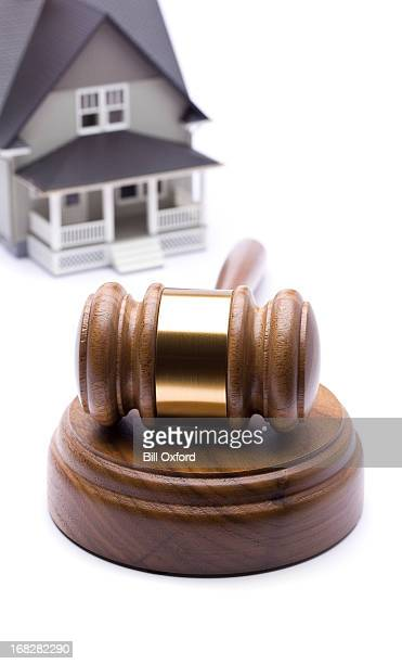 Home and gavel