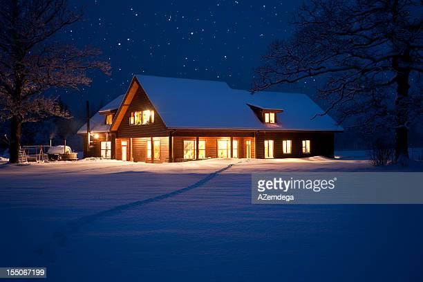 Hause an Weihnachten