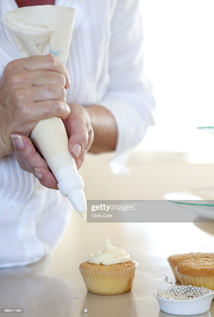 Home Baking Cup Cakes : Stock Photo