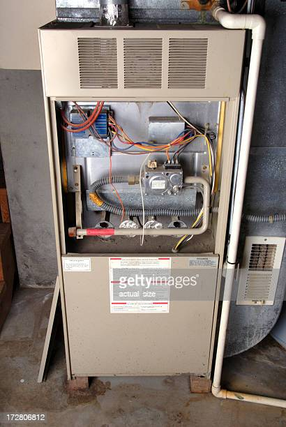 Home Basement Furnace Unit