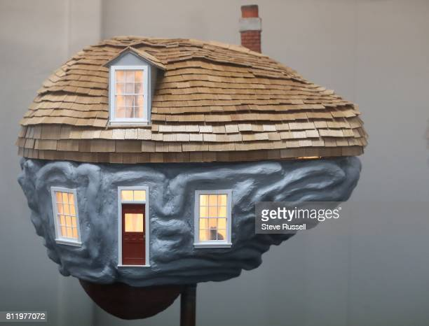 TORONTO ON JUNE 27 'Home' by Sarah Farndon On July 11 more than 100 vibrantly coloured sculptures of human brains will be scattered around Toronto...