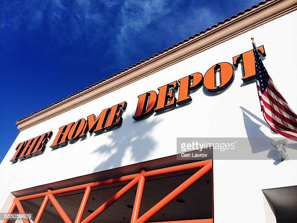 Home Depot store front in Santa Maria California