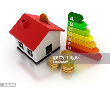 Home Energy Efficiency : Stock Photo