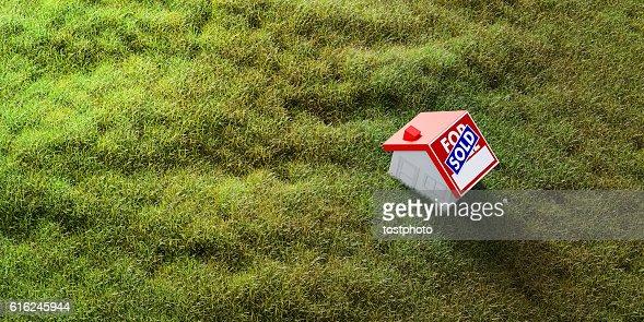 Casa en venta  : Foto de stock