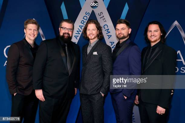 Home Free attends the 51st annual CMA Awards at the Bridgestone Arena on November 8 2017 in Nashville Tennessee