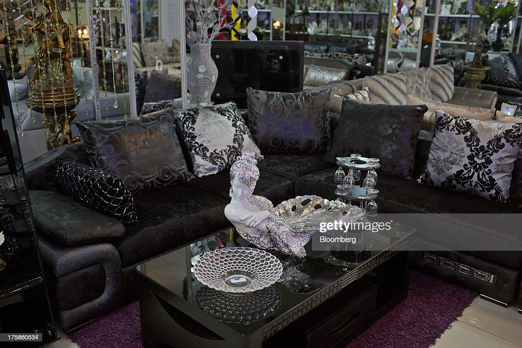 Home furnishings are displayed for sale in a department store in the Faisal Business Center in Kabul, Afghanistan, Wednesday, Aug. 7, 2013. A smooth U.S. exit from Afghanistan will depend on Pakistans cooperation with the logistical pullout, as well as its backing for peace talks in neighboring Afghanistan and an end to any support for extremist proxies operating there. Photographer: Victor J. Blue/Bloomberg via Getty Images