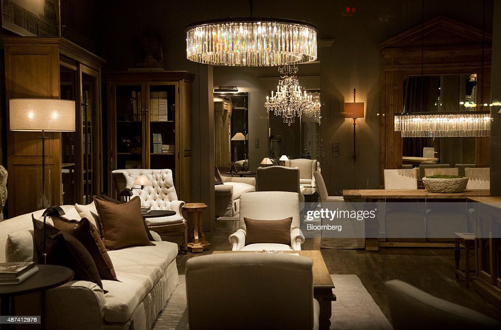 A Restoration Hardware Holdings Inc Store Ahead Of Earnings Figures Getty Images