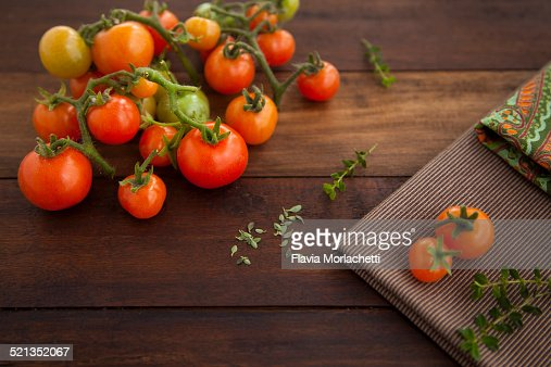 Home grown cherry tomatoes