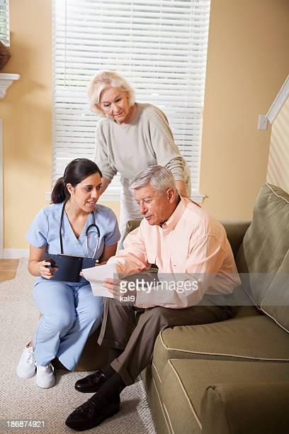La Profession médico-sociale aider un patient