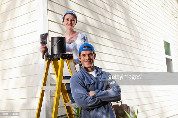 Home improvement - painting house