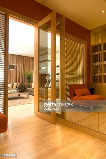 Intérieur de maison, avec un mobilier de luxe