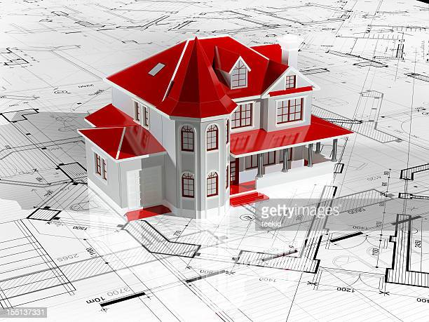 Home Interior-Architektur Blueprint