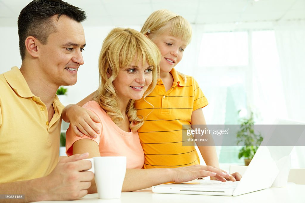 Home internet : Stock Photo