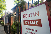 A home is offered for sale in the Bucktown neighborhood on September 21 2015 in Chicago Illinois Sales of previously owned homes fell more than...