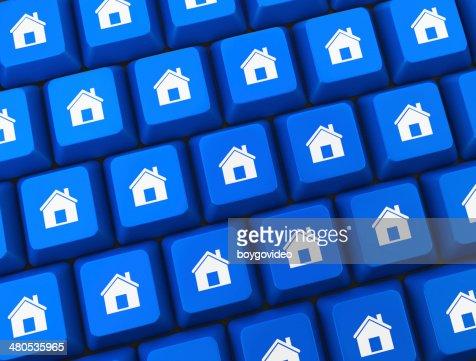 Home key : Stock Photo