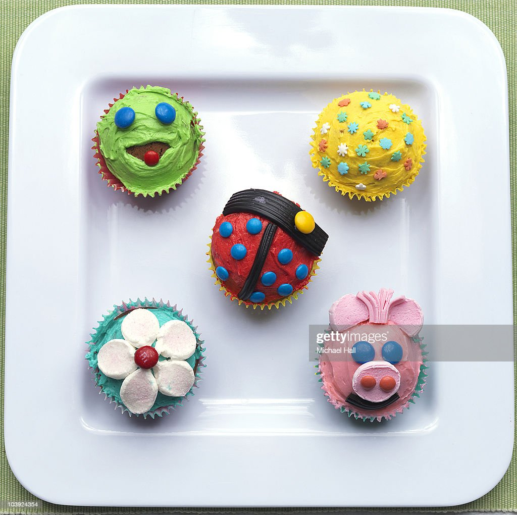 Home made cup cakes : Stock Photo