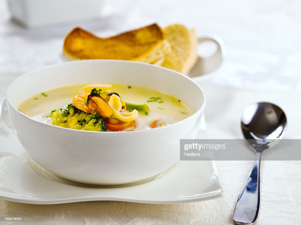 Home made Irish Sea food Chowder