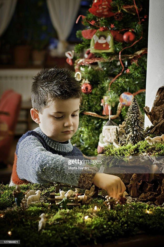 Home made nativity
