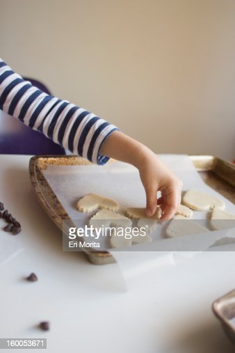 Home made Valentine cookies : Stock Photo