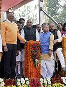 IND: Home Minister Rajnath Singh Inaugurates Jyotiba Phule Multi-Level Parking Lot In Lucknow