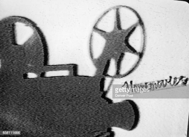 21985 'Home Movies' logo on television screen Credit The Denver Post