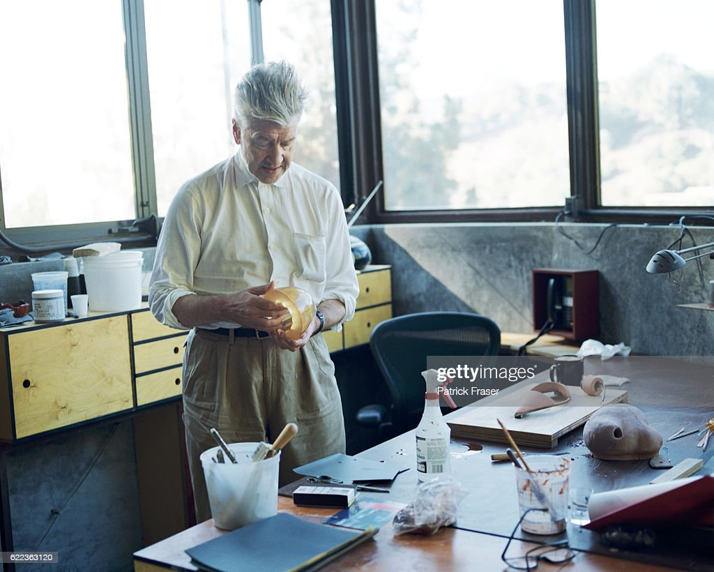 Home Art Studio Home Of David Lynch Home Art Studio Pictures Getty Images