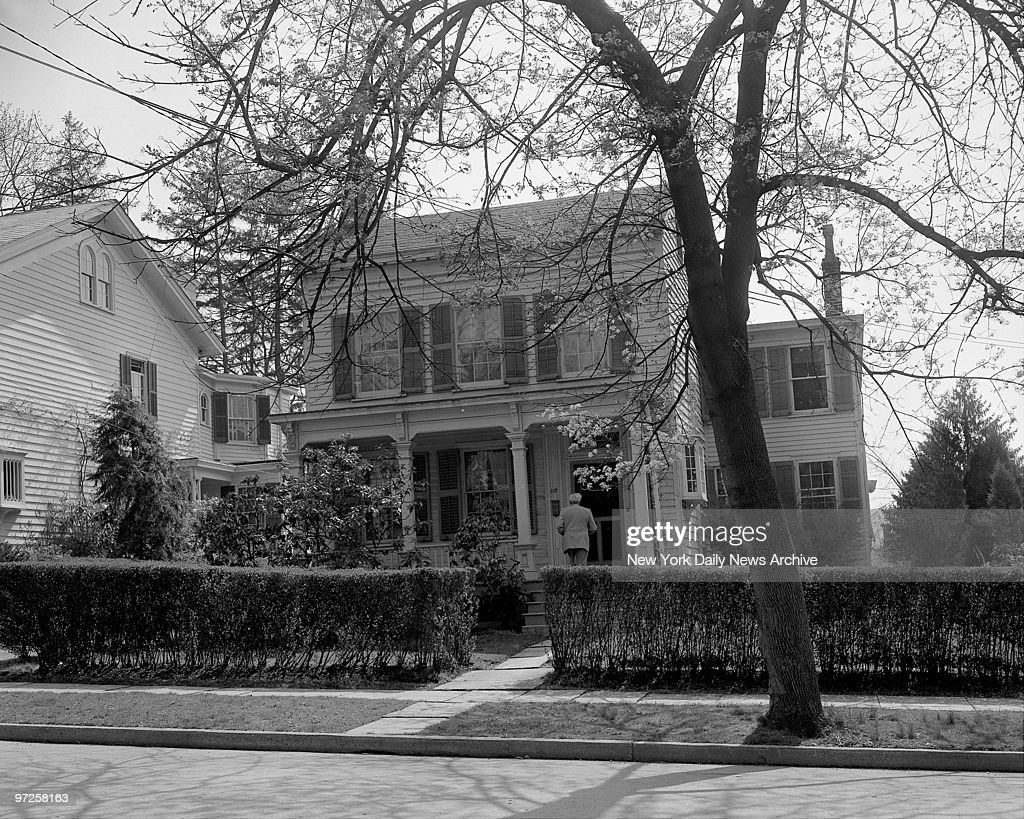 Home of Dr. Albert Einstein at 112 Mercer St. in Princeton, N.J.