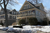 Home of the week is the second floor of a classic New England Colonial