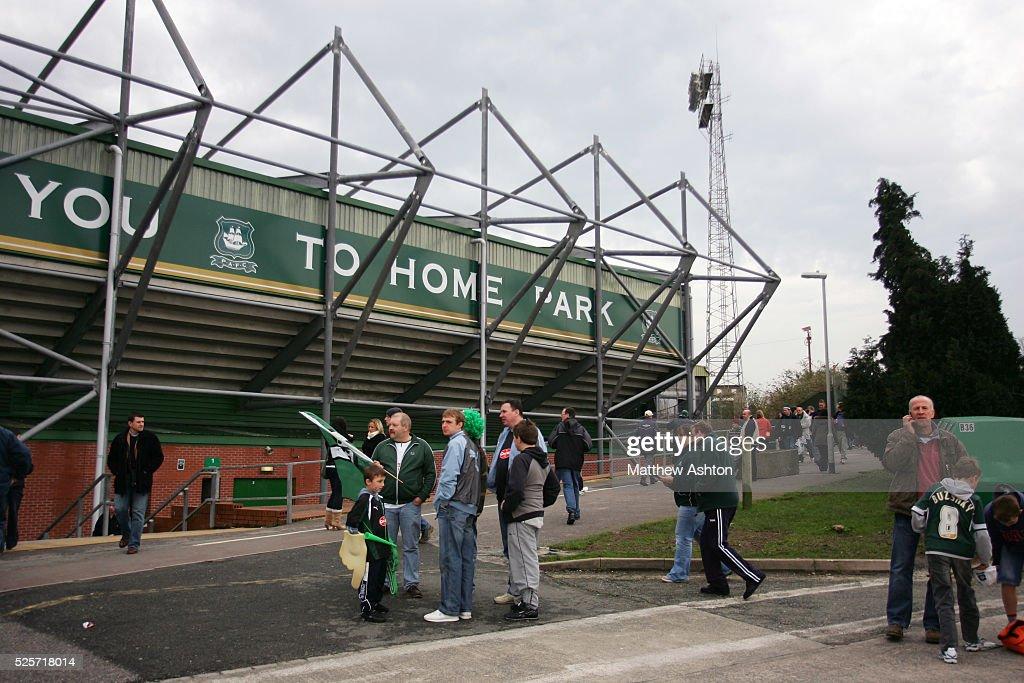 Home Park Stadium To Plymouth Argyle