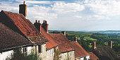 Home Rural Scene House British Culture Destination Travel Concept