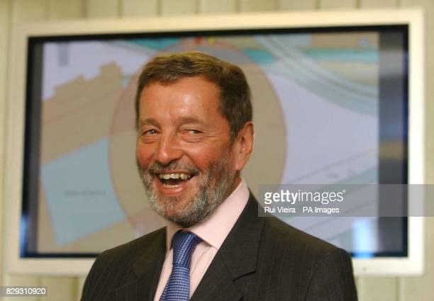 Home Secretary David Blunkett promotes the launch of a satellite tracking system that will monitor movements of paedophiles and other offenders...