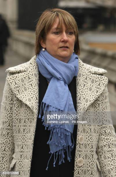 Home Secretary Jacqui Smith leaves the Houses of Parliament in London following the State Opening of Parliament
