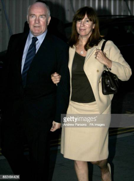 Home Secretary John Reid arrives in Manchester with wife Carine Adler on the eve of the Labour Party conference in the city