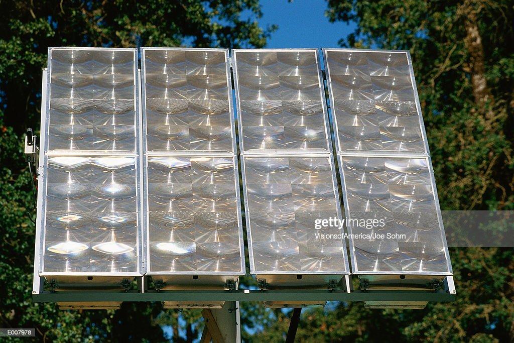 Home solar panels : Stock Photo