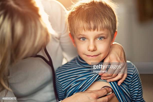 Esame medico di casa visita