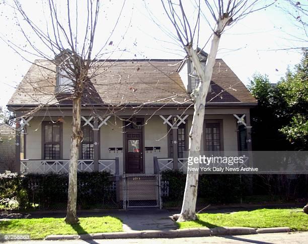 Home where Robert Durst lived in Galveston Texas
