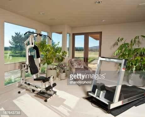 Home with exercise room