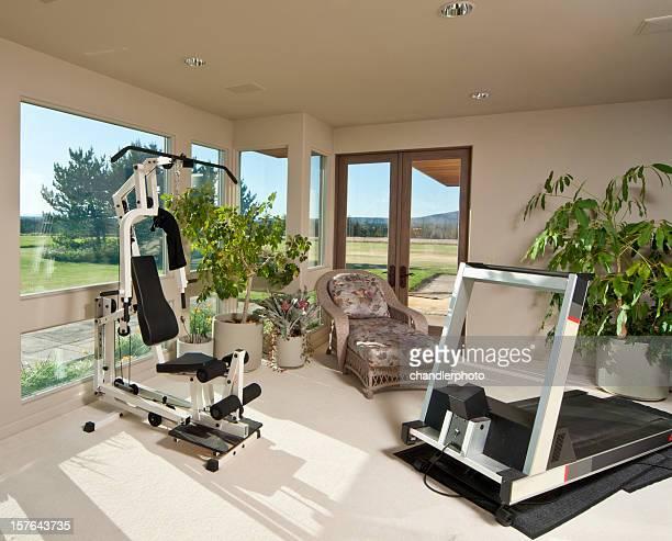 Hause mit Trainingsraum