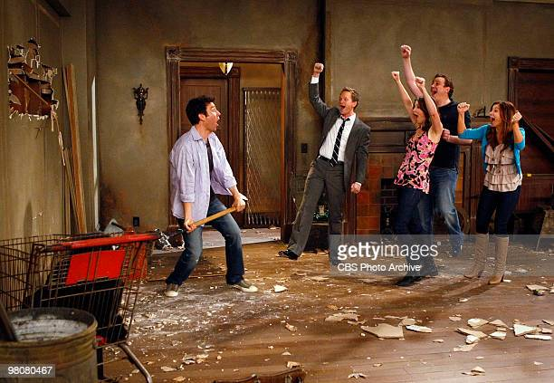 'Home Wreckers' Ted buys a dilapidated house and takes Lily Marshall Barney and Robin to see it on HOW I MET YOUR MOTHER Monday April 19 on the CBS...