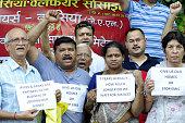 IND: Homebuyers Protest Against Jaypee Builder In Noida