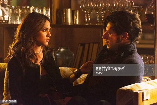 THE MAGICIANS 'Homecoming' Episode 110 Pictured Summer Bishil as Margo Hale Appleman as Eliot