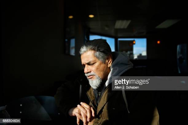 Homeless Army veteran Kenneth Salazar takes a moment to reflect on being homeless on and off for 10 years before moving into Potter's Lane the...